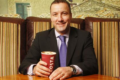 Jim Slater: managing director of Whitbread-owned Costa Coffee Enterprises