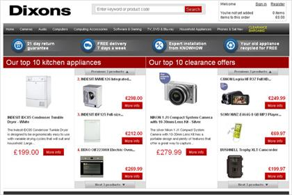 Dixons.co.uk: end of an era