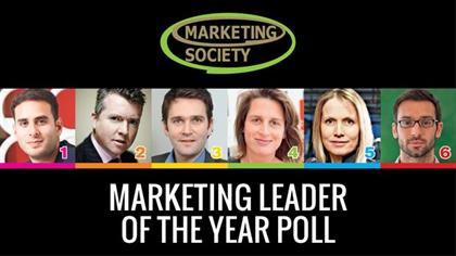 Marketing Society Marketing Leader of the Year 2013