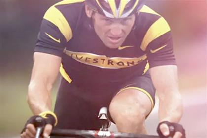 Lance Armstrong: in Nike's 'driven' campaign