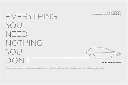 Audi: A3 ad campaign by BBH