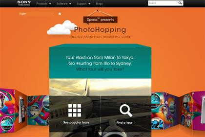 Photohopping: Instagram app by Sony