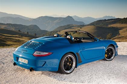 Porsche: high share of voice