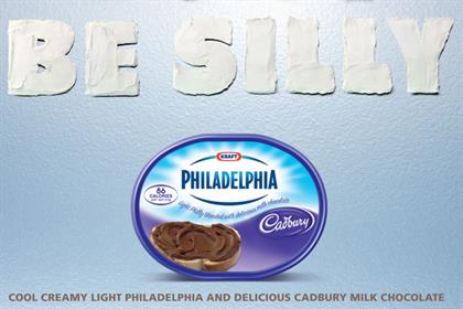 Kraft: rolls out 'choccy philly' campaign