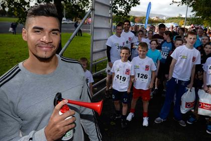 Louis Smith: Subway brand ambassador