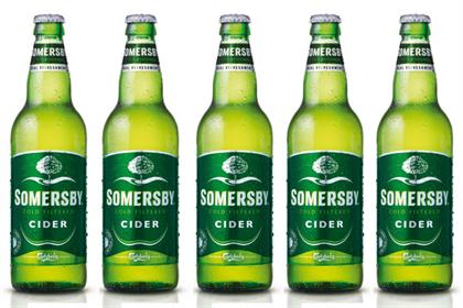 Somersby Cider: Carlsberg-owned brand set to launch in UK in July