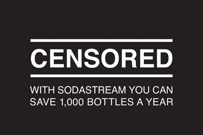 SodaStream: print campaign hits out at ban on TV ad