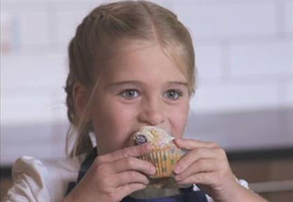 Stork: latest TV ad features a young girl making muffins