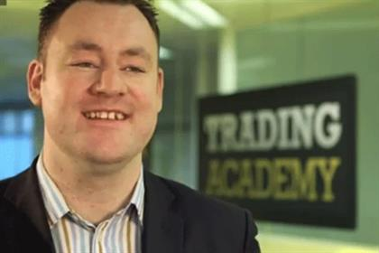 John Walsh: wins City Index's 100,000 prize in the Trading Academy competition