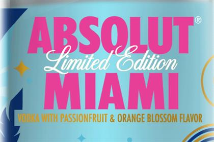 Absolut variants designed by The Brand Union
