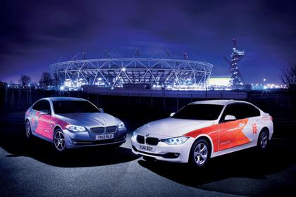 London 2012 branded fleet
