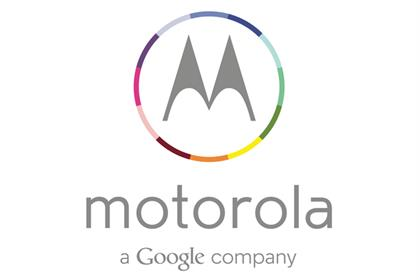 Motorola: adds Google to logo