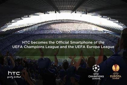 HTC: mobile phone supplier signs three-year partnership deal with UEFA