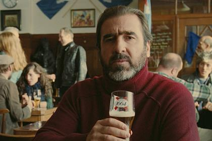 Eric Cantona: stars in Kronenbourg 1664 ad