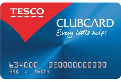 Tesco: refusing to share Clubcard data