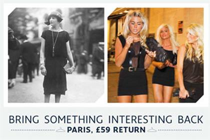 Eurostar: ads promote £59 return fare