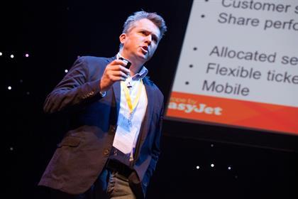 EasyJet marketing director Peter Duffy
