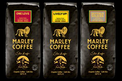 Marley Coffee: rolling out in the UK