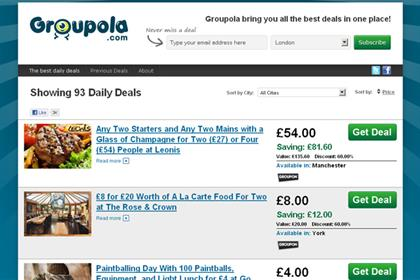 Groupola: OFT criticises offers site