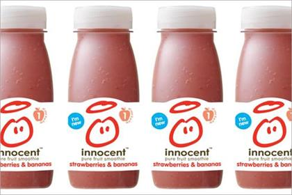 Innocent: rolls out 160ml bottles
