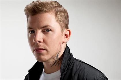 Professor Green: backs Relentless