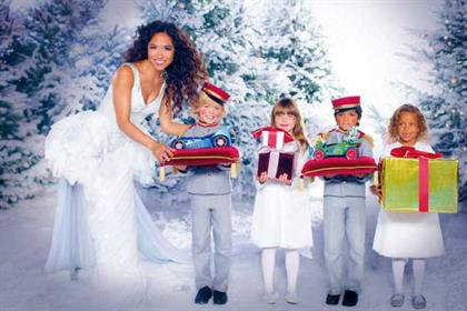 Littlewoods: Myleene Klass stars in Christmas ad campaign
