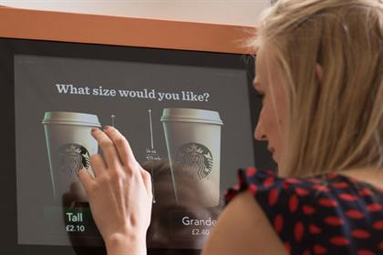 Starbucks: readies UK machine roll out