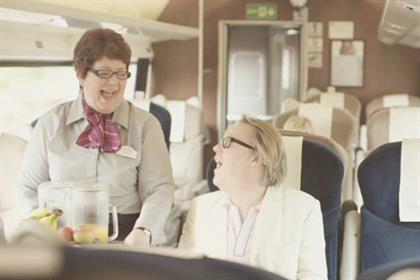 East Coast: Vic Reeves stars in TV campaign
