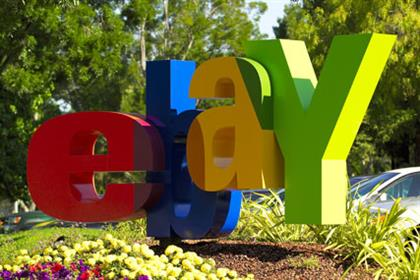 eBay: readies Christmas store