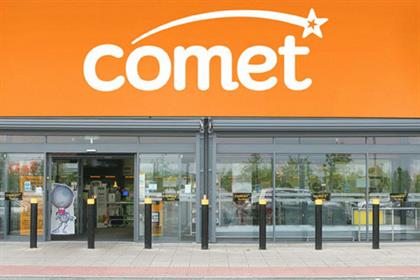 Comet: shuts high street stores