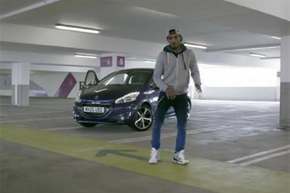 Peugeot's 208 push featuring YouTube sensation dancer Marquese Scott