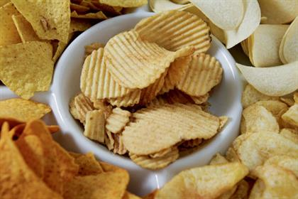 Crisps and salty snack sales are up 24% since 2005