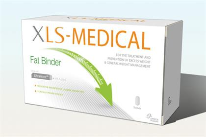 XLS-Medical :Omega Pharma launches diet aid in the UK