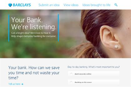 Barclays: launches Your Bank initiative next week