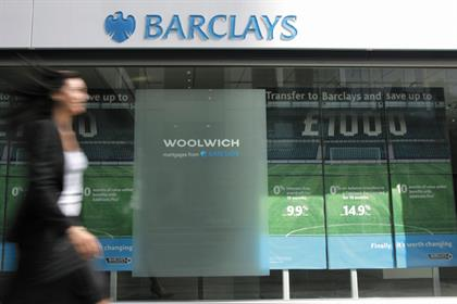 Barclays: set to close a quarter of branches