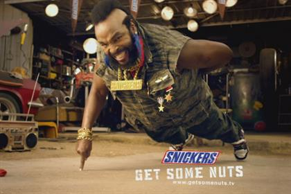Snickers: Mr T 'get some nuts' campaign