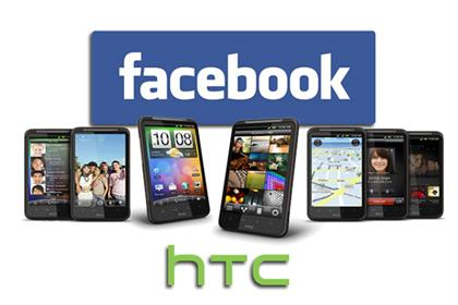 Facebook: rumoured to be developing a smartphone with HTC