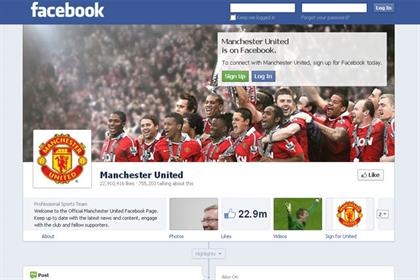 Manchester United: among first to roll out a brand timeline