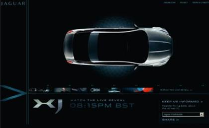 Jaguar ad by Direct Agency of the Year EHS 4D
