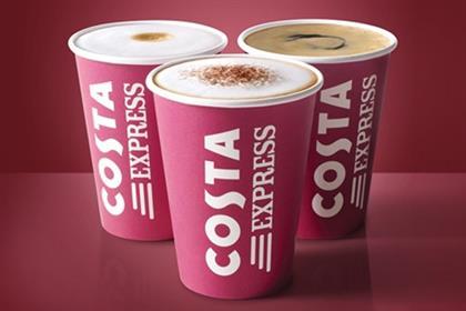 Costa Coffee: readies Debenhams tie-up