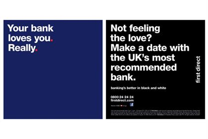 First Direct: ads parody rival bank campaigns