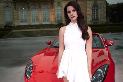 Lana Del Rey: starring in Jaguar campaign