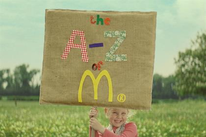 McDonald's: winners of Grand Prix at Marketing Society Awards for Excellence 2012
