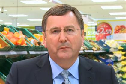 Philip Clarke: Tesco chief appears on website to reassure customers