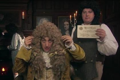 Barclaycard: spoof viral depicts the history of payment through the ages