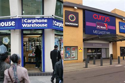 Dixons and Carphone Warehouse enter merger talks (Carphone Warehouse pic: Colin Stout)