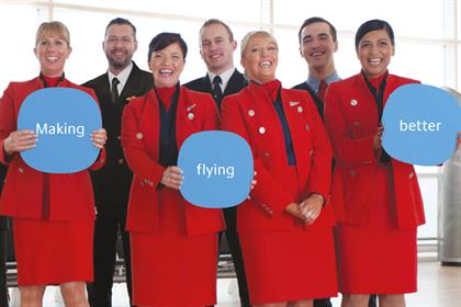 Flybe campaign: 'Making flying better'