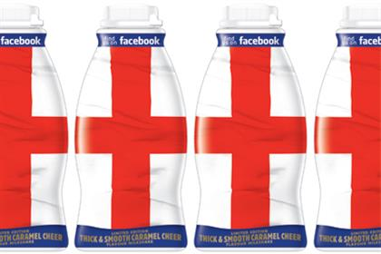 Frijj: limited edition St George's Day bottle