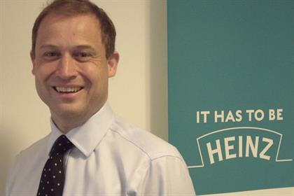 Giles Jepson: chief marketing officer, Heinz