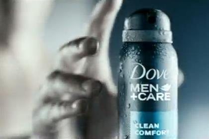 Dove: men's range ties-up with rugby